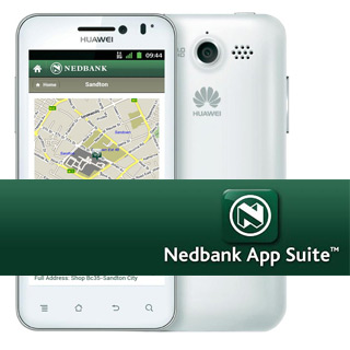 Mobile Maps for Nedbank App
